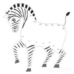 Zebra Outline Coloring Page by Free Coloring Pages