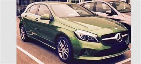 is this the 2016 mercedes a class facelift