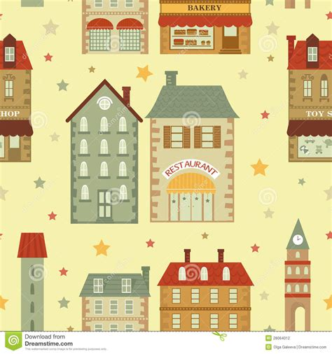 city pattern photography cute city pattern stock photography image 28064012