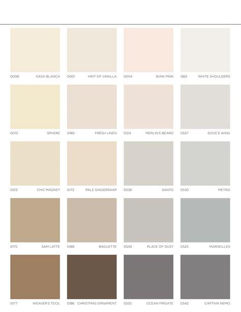vogel paint colors whites neutrals color card color center