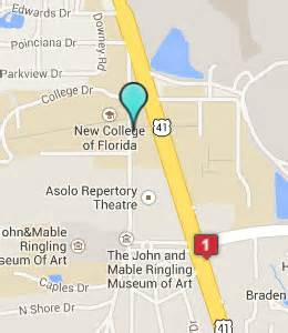 new college of florida map hotels near new college of florida sarasota