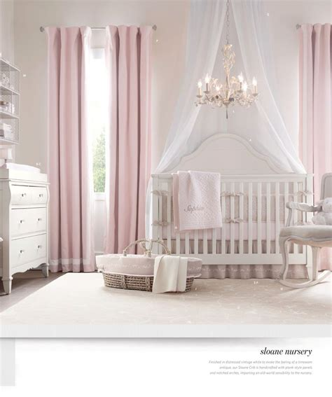curtains nursery girl curtains crib 2012 fall catalog restoration hardware