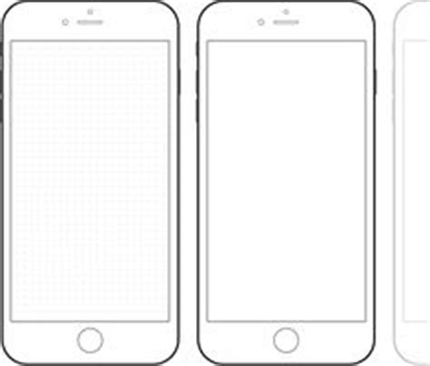 29 Images Of Paper Iphone Template Design Infovia Net Iphone Wireframe Template