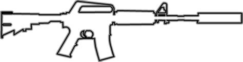 Csgo Awp Outline by Image M4a1s Hud Outline Csgo Png Counter Strike Wiki Fandom Powered By Wikia