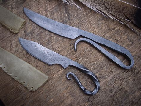 how to forge a knife blacksmith s knives crossed forge