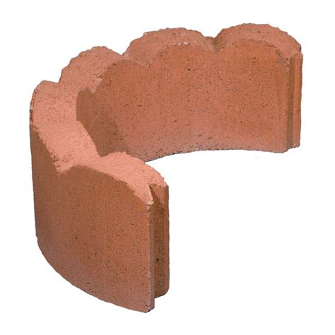 Home Depot Decorative Stone 24 In Red Concrete Tree Ring 100002878 The Home Depot