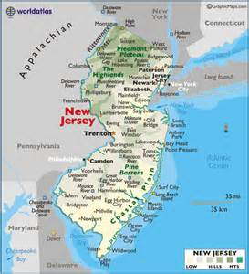 Of Central Nj Map Of Central And South Jersey Pictures To Pin On
