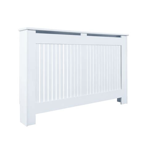 Patio Heater Covers B Q by Kensington Large White Painted Radiator Cover