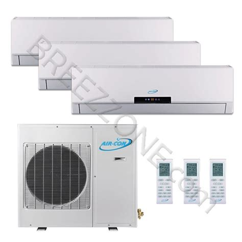 air  tri zone ductless mini split air