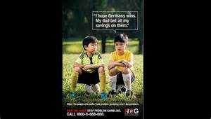 Football fans take the mickey out of world cup problem gambling ad