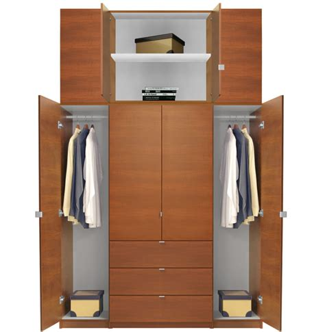 tall armoires alta extra tall armoire plus closet package contempo space