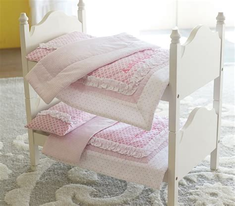 Bunk Bed Bedspreads Doll Bunk Bed Bedding Pottery Barn
