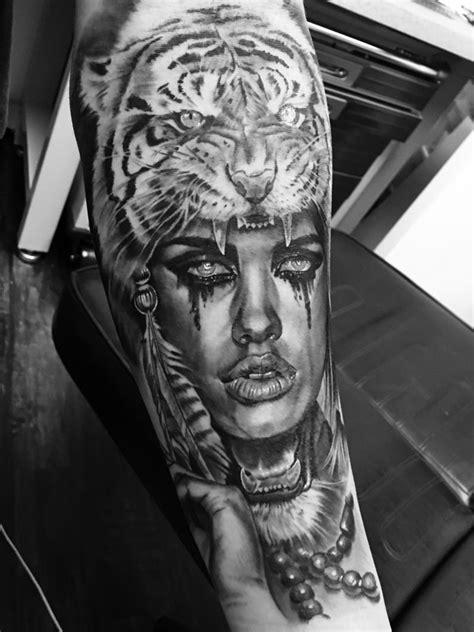 lady warrior tattoo designs ryantownsend tiger spirit tiger tiger black and