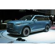 2018 Lincoln Navigator Concept Video First Look