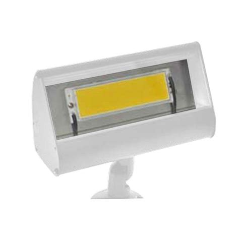 Outdoor Lights At Home Depot Filament Design Centennial 1 Light Outdoor Led White Textured Led Flood Light Lfl01ldp8120vwt