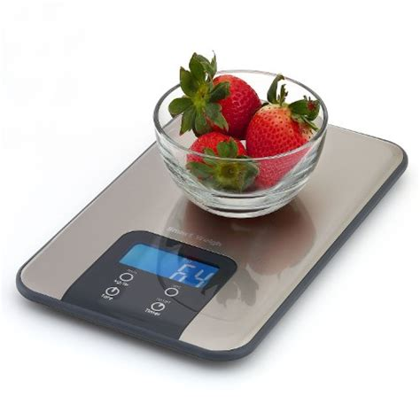 designer kitchen scales smart weigh digital kitchen scale and timer food scale