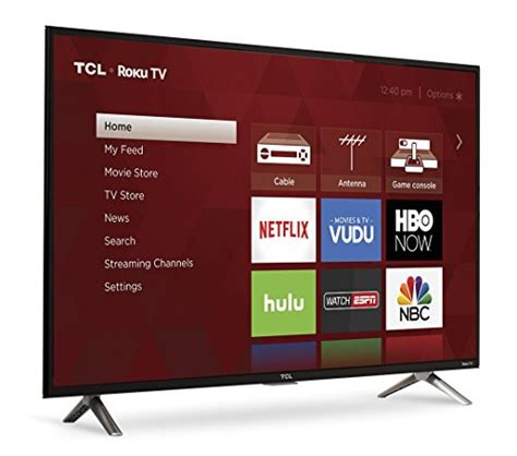 Tv Led Tcl 14 Inchi tcl 40s305 40 inch 1080p roku smart led tv 2017 model electronics in the uae see prices