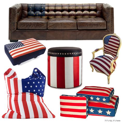 10 pieces of perfectly patriotic furniture for the fourth