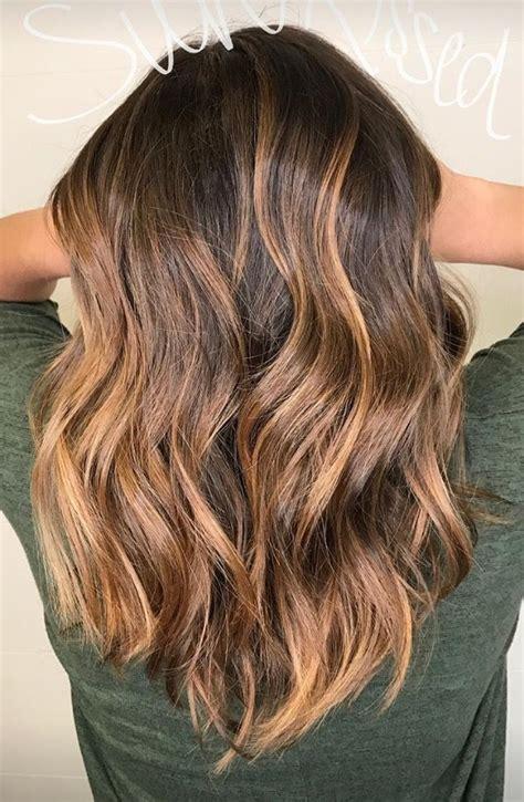 summer hair highlights best 25 brunette highlights summer ideas on pinterest