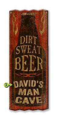 Want A Bottle Of Dirt How About Perspiration by Vintage Signs Made In Usa From Meissenburg Designs