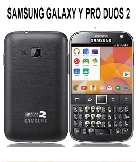 samsung galaxy y pro duos 2 with refreshed specs phonesreviews uk mobiles apps networks