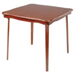 Wooden Folding Card Table Stakmore Scalloped Edge Wood Folding Card Table At Hayneedle