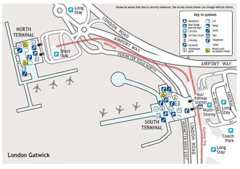 gatwick airport floor plan london gatwick airport location map