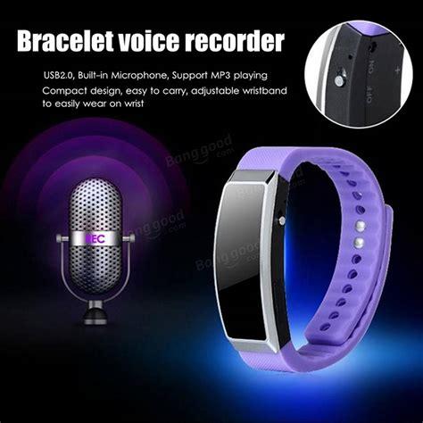Sale Usb Digital Voice Recorder 8gb Mp3 Handy Perekam Suara Htz2 digital 4gb 8gb voice recorder wristband bracelet usb sound dictaphone mp3 mic sale banggood