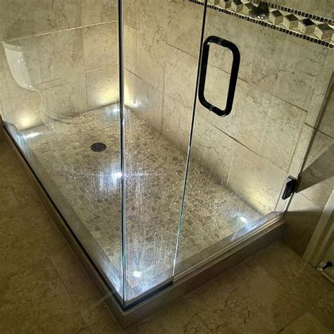 led light shower indoor recessed dek dot led light kit in led bath and