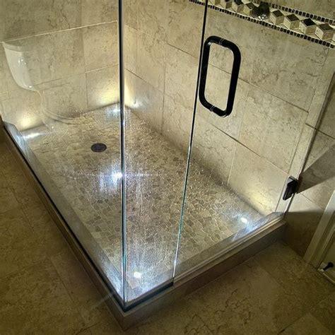 recessed lighting for bathroom showers indoor recessed dek dot led light kit in led bath and