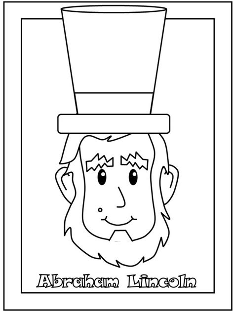 free president s day coloring pages