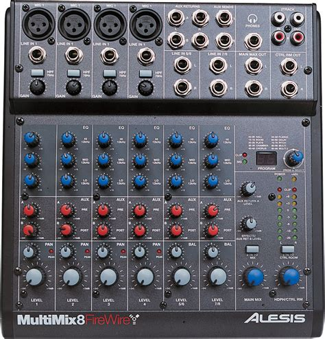 alesis multimix multimix 8 firewire alesis multimix 8 firewire