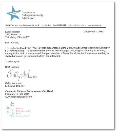 Reference Letter For Special Education Reference Letter For Kordell Norton From The
