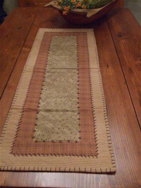 country fall table runners and primitives on pinterest
