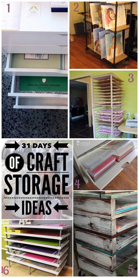 Craft Paper Storage Ideas - paper and canvas craft storage ideas the moon