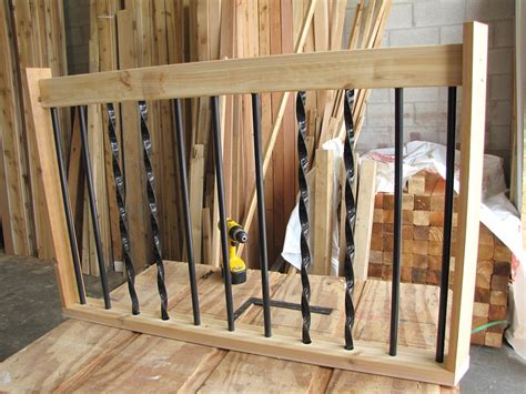 Metal Deck Spindles The Deck Barn How To Install Metal Spindles