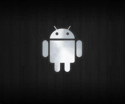 wallpaper para android en hd imagen gratis con el logo de android en fondo negro en hd
