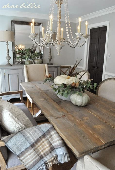 Crystal Chandelier For Dining Room five rustic glam dining rooms snazzy little things