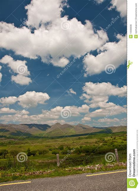 Vibrant Landscape Pictures Vibrant Scenic Landscape From The West Of Ireland Royalty
