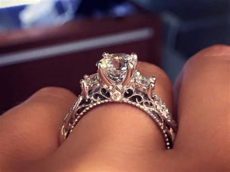 9 Beautiful Wedding Bands by Behold The Most Popular Engagement Ring On