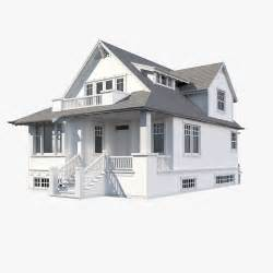 3d home modeling 3d family house model