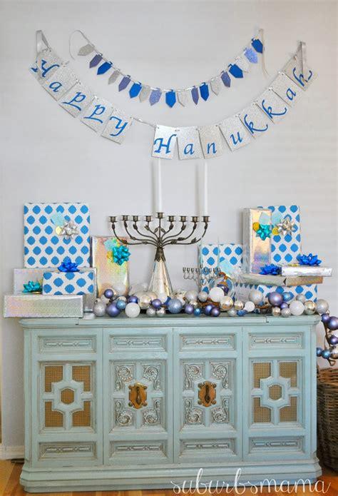 Hannukah Decorations by Suburbs Hanukkah Decor 2013