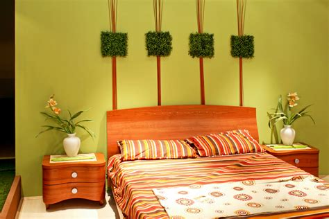 green bedroom feng shui modern bedroom with green color of wall interior decor