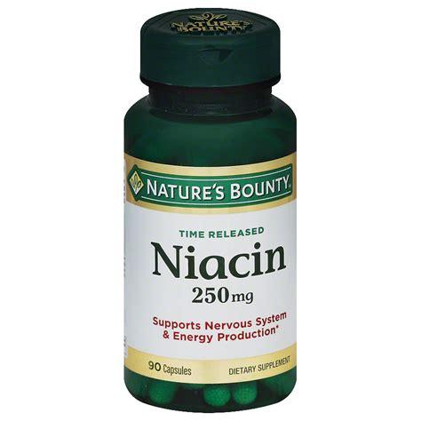 supplement niacin nature s bounty niacin 250 mg dietary supplement capsules