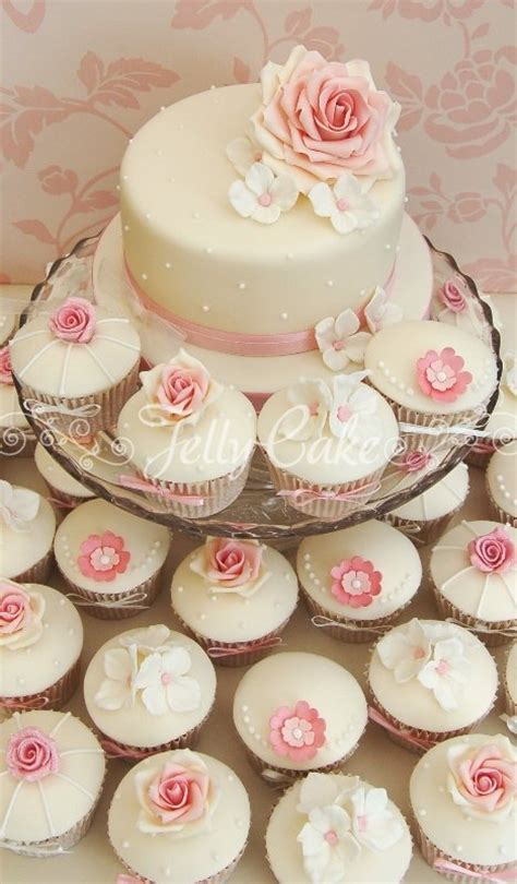 Wedding Cupcake by Cupcakes And Mini Cakes Jellycake