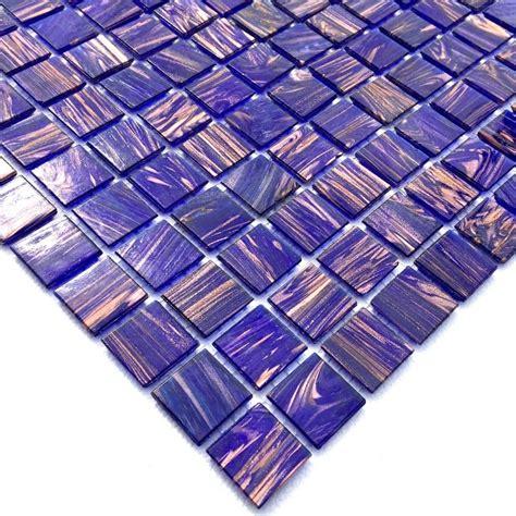 mosaico vetro bagno mosaico di vetro per il bagno e la doccia vitro violet