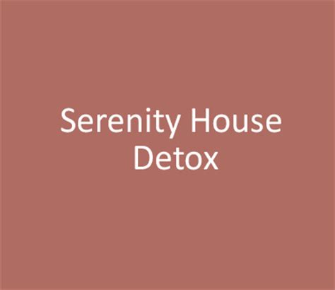 Serenity Detox by Serenity House Detox Seacrest Resource Center