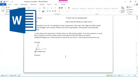 Signature In Word Document how to insert signature in word document