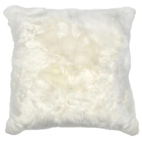 Alpaca Fur Pillows by Roberta Ivory Peruvian Alpaca Fur Pillow 20x20 Kathy