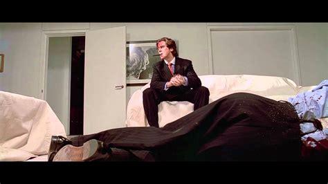 american psycho bedroom scene american psycho axe scene youtube